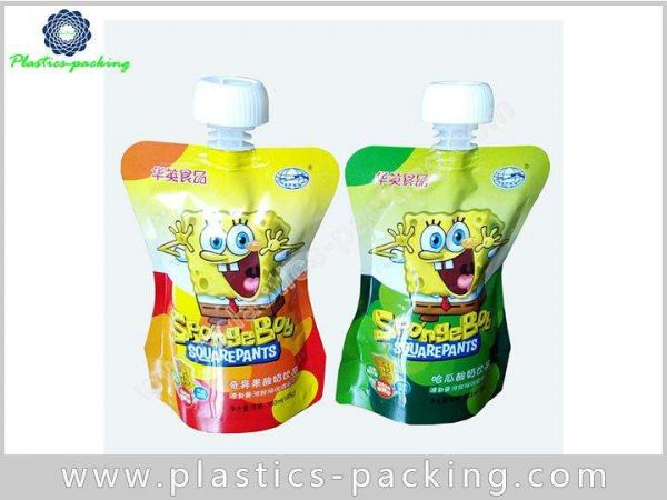 Tomato Sauce Spout Bag Customized Stand Up Spout yy 017