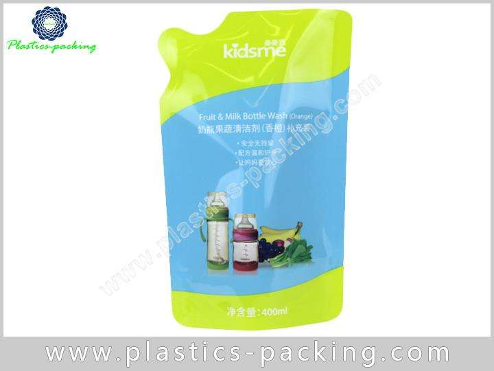Transparent Clear Stand Up Spout Pouch Manufacturers yythk 004