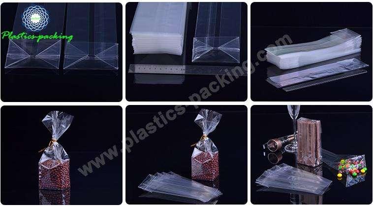 Transparent OPP Material Block Bottom Bags for Snac 005