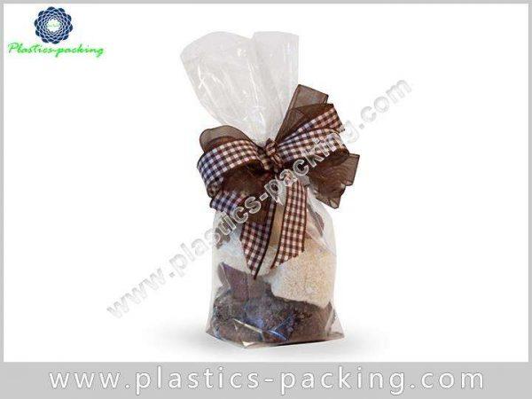Transparent OPP Material Block Bottom Bags for Snac 008 1