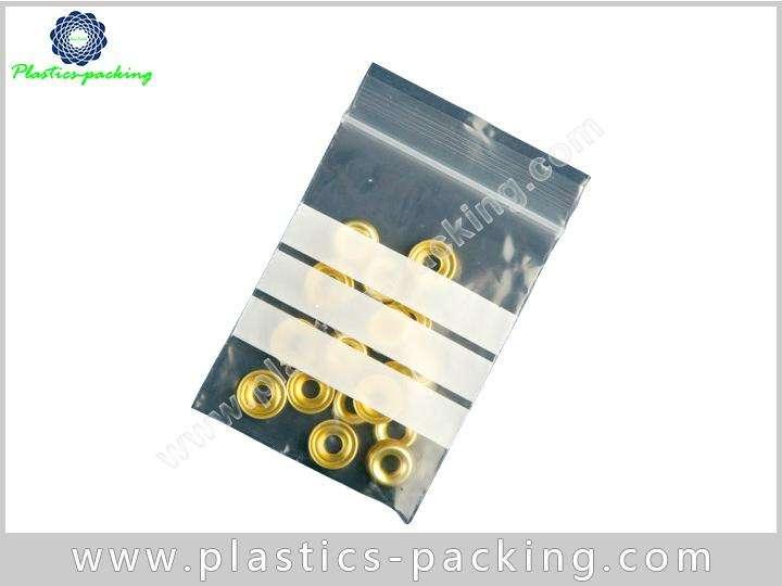 Transparent Reclosable Plastic Bag 3x5 4 Mil Zip Lock Pouch Plastic Zippered Storage Pouch 2
