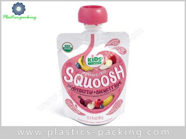 Transparent Spouted Liquid Bag Manufacturers and Suppliers 006