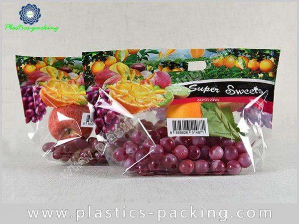 Vegetables Bags With Handle And Zipper Manufacturers yythk 07