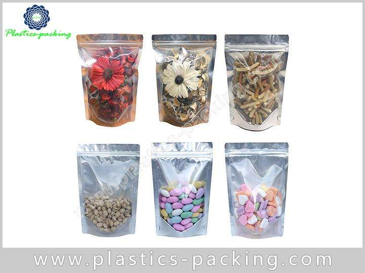 White Clear Zip Lock Hang Hole Plastic Packaging yy 1154