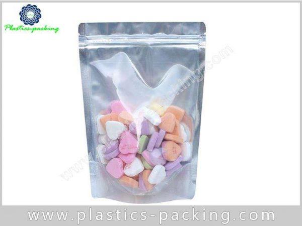 White Clear Zip Lock Hang Hole Plastic Packaging yy 1156