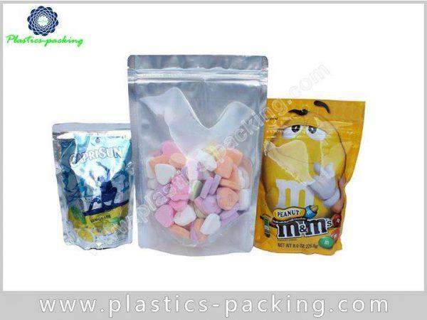 White Clear Zip Lock Hang Hole Plastic Packaging yy 1157