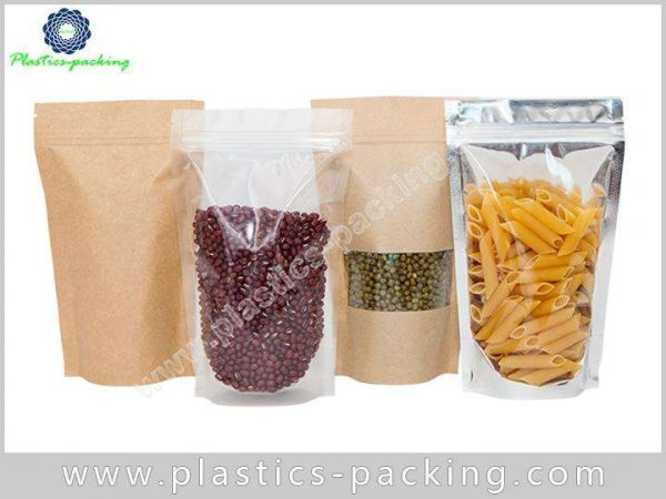 With Oval Window Kraft Paper Pouch Manufacturers an 009