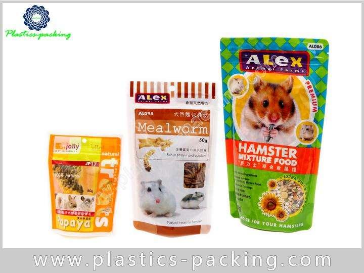 Zip Lock Pet Food Bags Side Gusseted Packaging PET Food Bag Pouch 6