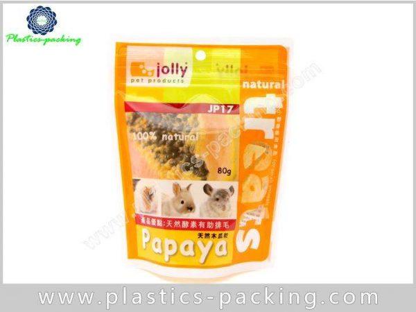 Zip Lock Pet Food Bags Side Gusseted Packaging PET Food Bag Pouch 7