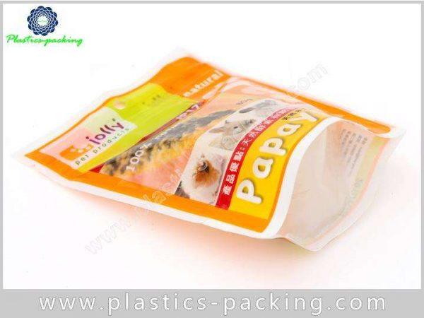 Zip Lock Pet Food Bags Side Gusseted Packaging PET Food Bag Pouch 8