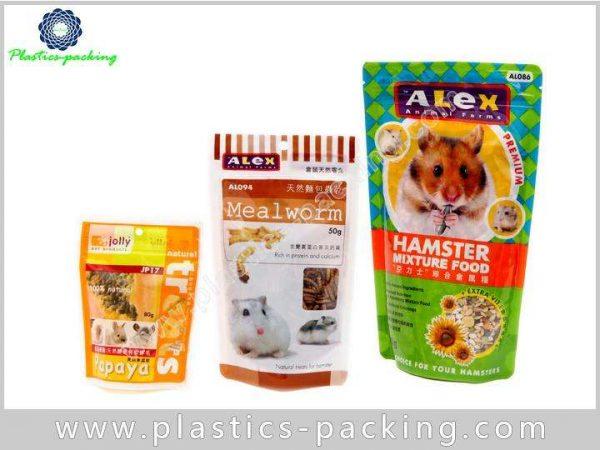 Zip Lock Pet Food Bags Side Gusseted Packaging PET Food Bag Pouch 9