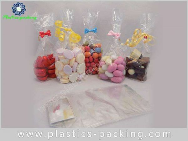 with Twist Tie OPP Square Bottom Bags with G 009