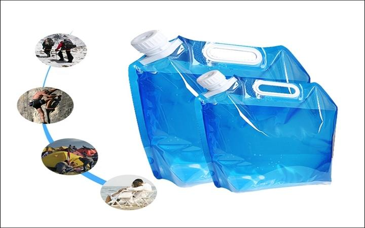 clear water spout pouch