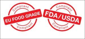 Approved FDA certificate OPP Block Bottom Bags